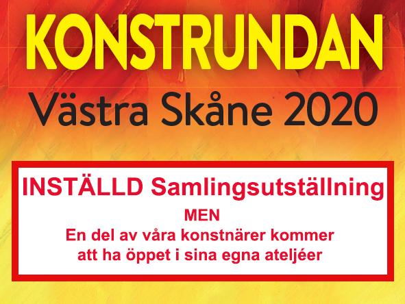 Inställd Konstrunda 2020