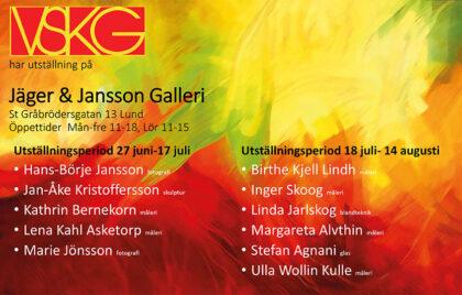 VSKG på Jäger & Jansson Galleri