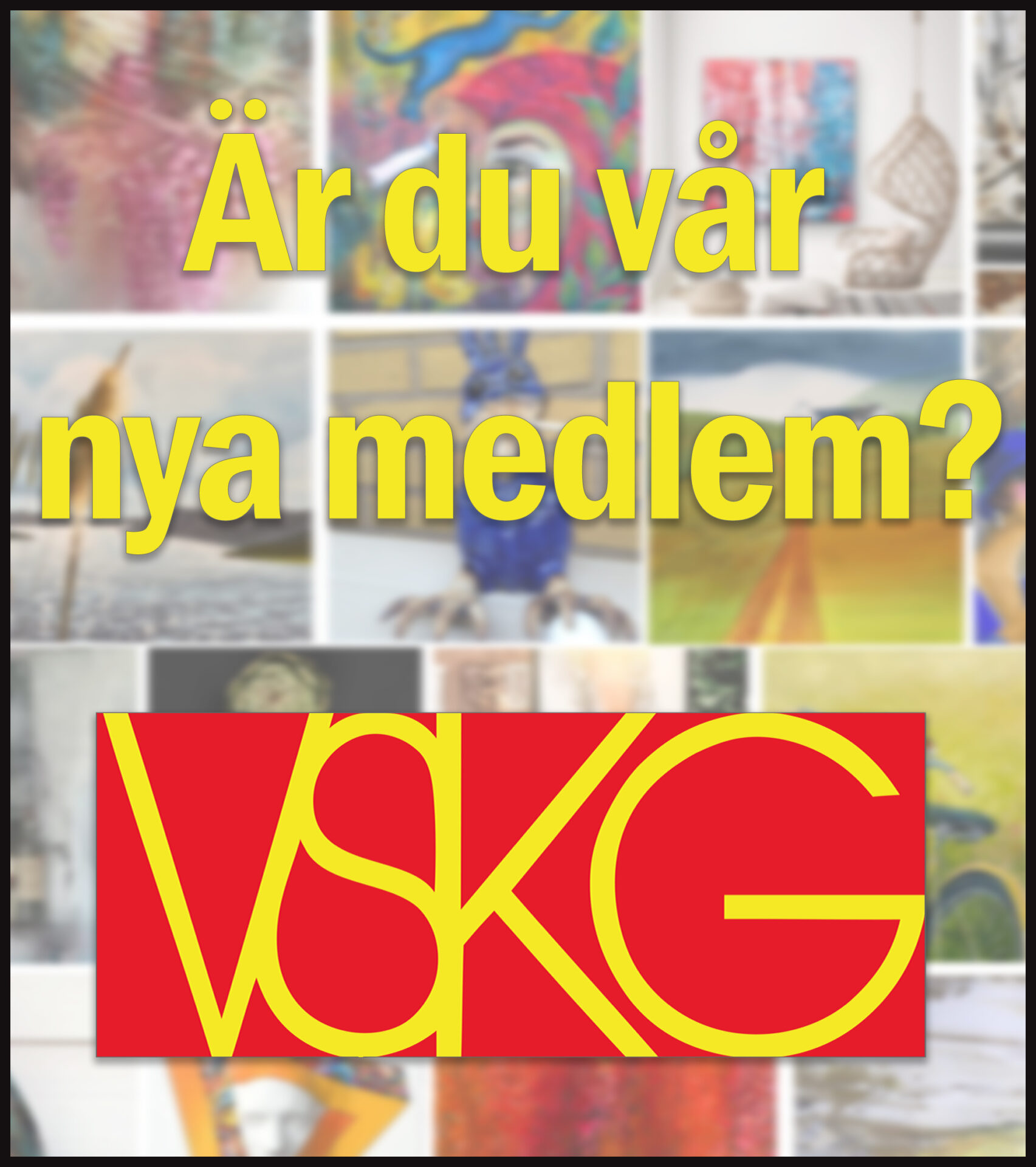 Bli medlem i VSKG